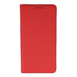 Etui boczne z klapką magnet book Huawei P9 Lite czerwony