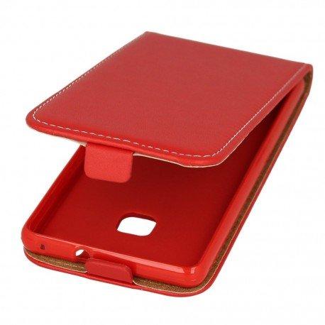 Etui z klapką Flexi do telefonu Huawei P9 Lite czerwony