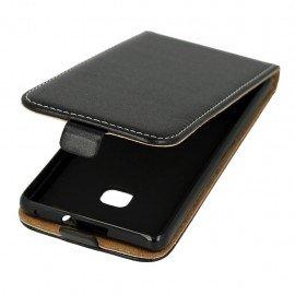 Etui z klapką Flexi do telefonu Huawei P9 Lite czarny