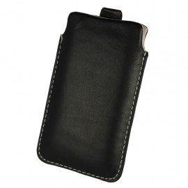 Etui wsuwka skórzana De Lux na telefon Huawei P9 Lite
