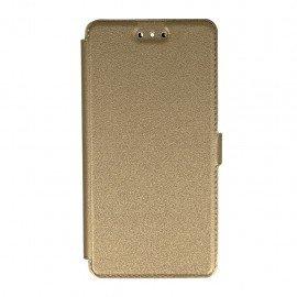 Etui na telefon Pocket Book na Huawei P9 złoty