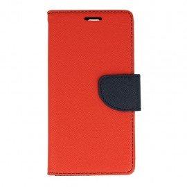 Etui portfelowe Fancy na telefon Huawei P9 czerwony