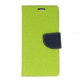 Etui portfelowe Fancy na telefon Huawei P9 zielony