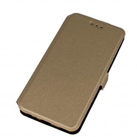 Etui na telefon Pocket Book do Huawei P10 złoty