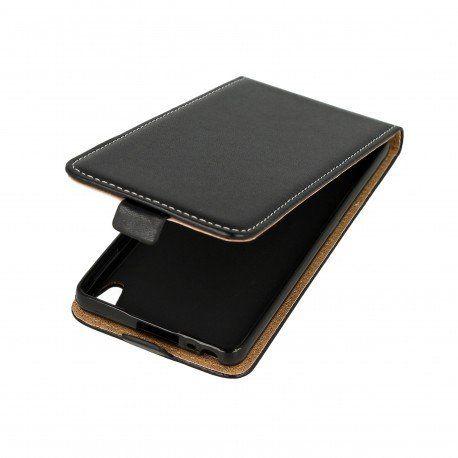 Etui z klapką Flexi do telefonu Sony Xperia E5 czarny