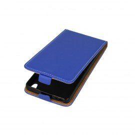 Etui z klapką Flexi do telefonu Sony Xperia E5 niebieski