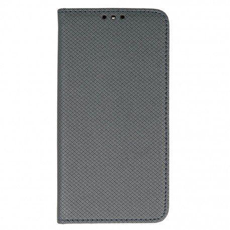 Etui boczne z klapką magnet book Huawei P9 stalowy