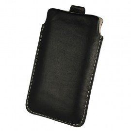 Etui wsuwka skórzana De Lux na telefon Huawei P9