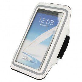 Etui do biegania na ramię Sony Xperia E5 biały