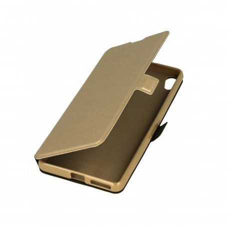 Etui na telefon Pocket Book do Sony Xperia XA złoty