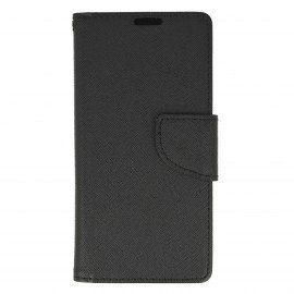 Etui portfelowe Fancy na telefonSony Xperia XA czarny