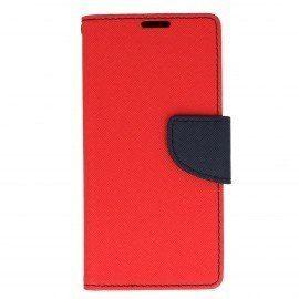 Etui portfelowe Fancy na telefon Sony Xperia XA czerwony