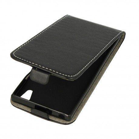 Etui z klapką Flexi do telefonu Sony Xperia XA1 czarny