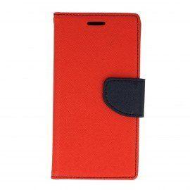 Etui portfelowe Fancy na telefon Sony Xperia X Performance czerwony