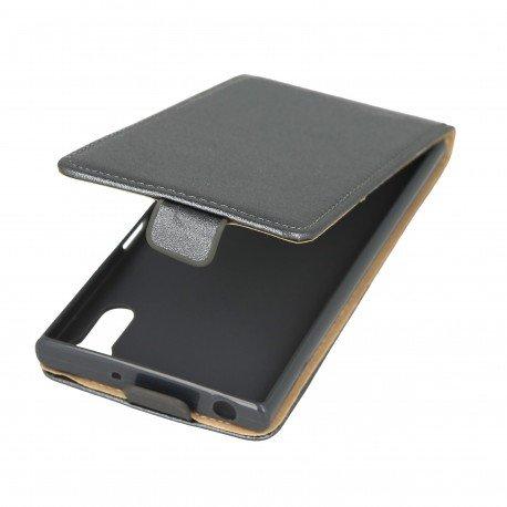 Etui z klapką Flexi do telefonu Sony Xperia XZ grafitowy