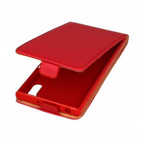 Etui z klapką Flexi do telefonu Sony Xperia XZ czerwony