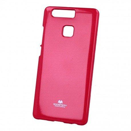 Etui na telefon Jelly Case do Huawei P9 różowy