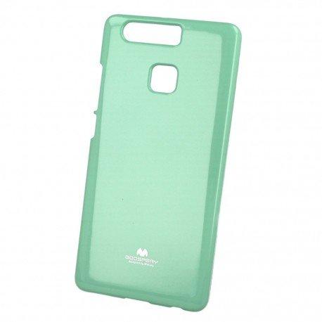 Etui na telefon Jelly Case do Huawei P9 miętowy