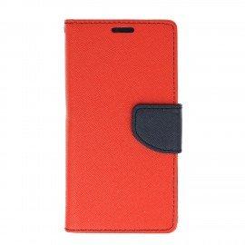 Etui porfelowe Fancy na telefon Huawei P8 Lite 2017 / P9 Lite 2017 czerwony