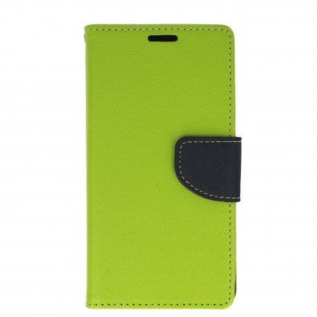 Etui porfelowe Fancy na telefon Huawei P8 Lite 2017 / P9 Lite 2017 zielony