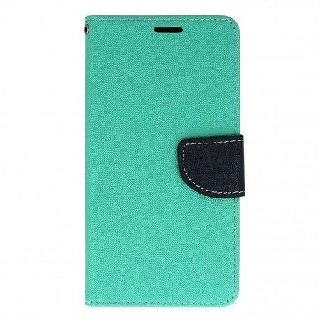 Etui portfelowe Fancy na telefon HTC Desire 825 miętowy