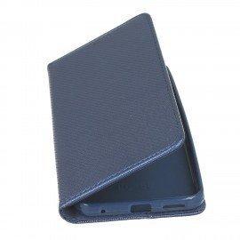 Etui z funkcją podstawki Magnet Book na telefon LG G6 H870 granatowy