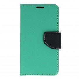 Etui portfelowe Fancy na telefon LG K3 miętowy