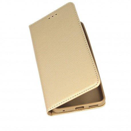 Etui z funkcją podstawki Magnet Book na telefon LG G6 H870 złoty