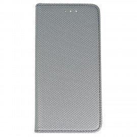 Etui boczne z klapką magnet book Huawei P10 stalowy