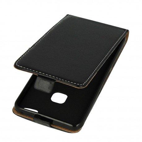 Etui z klapką Flexi do telefonu Huawei P10 Lite czarny
