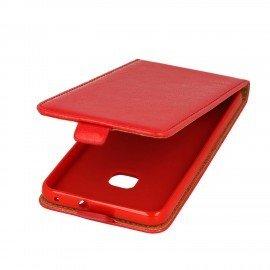 Etui z klapką Flexi do telefonu Huawei P10 Lite czerwony