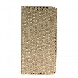 Etui boczne z klapką magnet book Huawei P10 Lite złoty