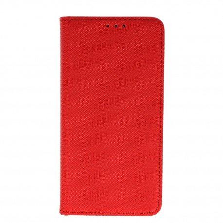 Etui boczne z klapką magnet book Huawei P10 Lite czerwony