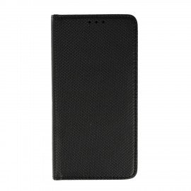 Etui boczne z klapką magnet book Huawei P10 Lite czarny