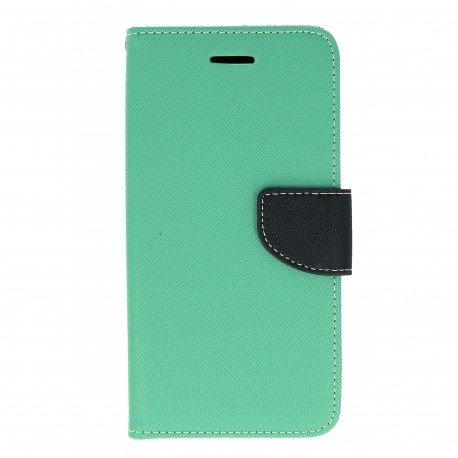 Etui portfelowe Fancy na telefon Huawei Honor 7 Lite miętowy