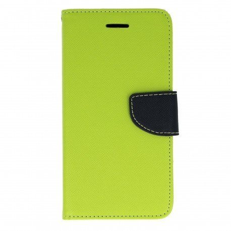 Etui portfelowe Fancy na telefon Huawei Honor 7 Lite zielony