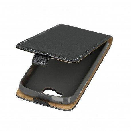 Etui z klapką Flexi do telefonu LG K3 grafitowy