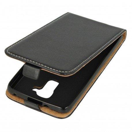 Etui z klapką Flexi do telefonu Huawei Honor 7 Lite czarny