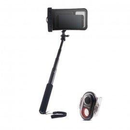 Wodoodporny uchwyt kij selfie stick do telefonu