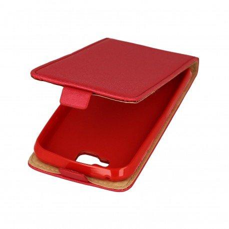 Etui z klapką Flexi do telefonu LG K3 czerwony