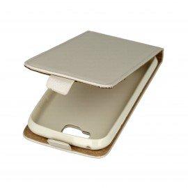 Etui z klapką Flexi do telefonu LG K3 biały