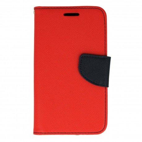 Etui porfelowe Fancy na telefon Huawei Y3 II czerwony