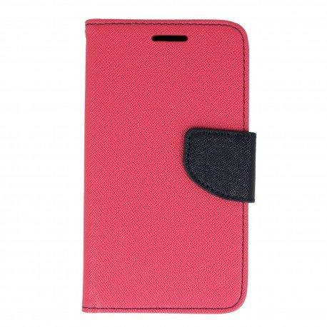 Etui porfelowe Fancy na telefon Huawei Y3 II różowy