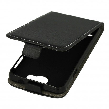 Etui z klapkąFlexi do telefonu Huawei Y3 II czarny