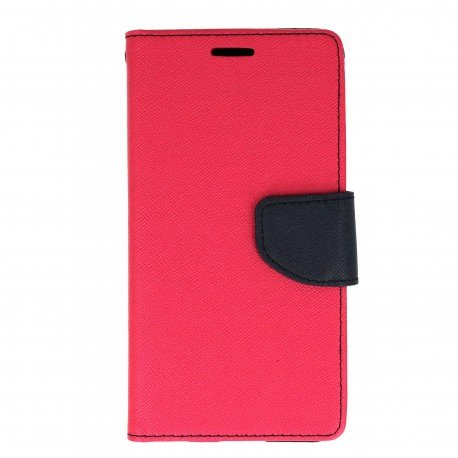 Etui portfelowe Fancy na telefon LG G5 H850 różowy