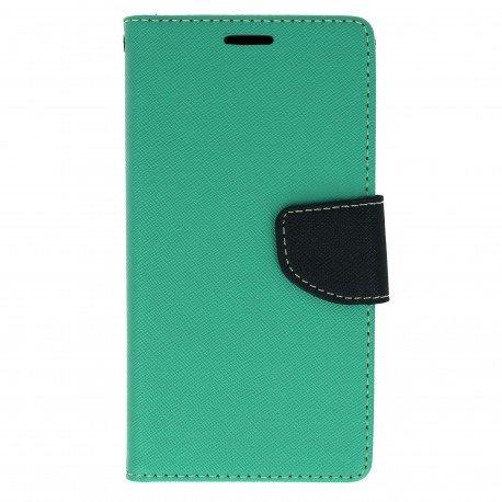 Etui portfelowe Fancy na telefon LG G5 H850 miętowy