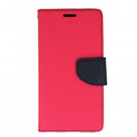 Etui portfelowe Fancy na telefon LG G6 H870 różowy
