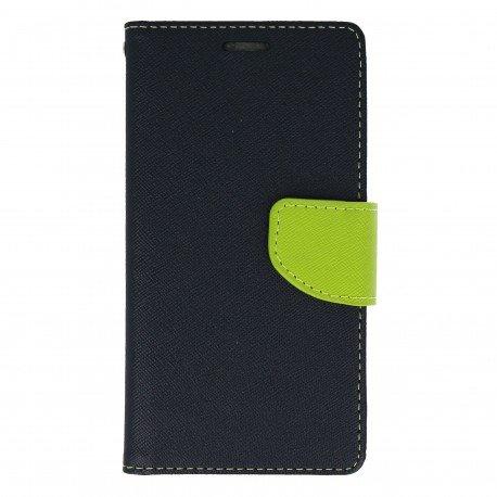 Etui portfelowe Fancy na telefon LG G6 H870 granatowy