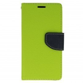 Etui portfelowe Fancy na telefon LG G6 H870 limonka