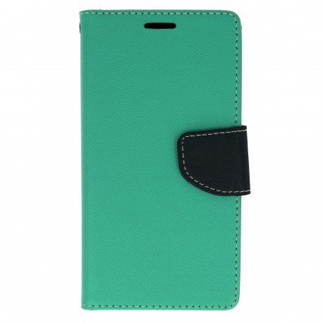 Etui portfelowe Fancy na telefon LG G6 H870 miętowy